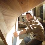 Ny kölplanka och bordläggning, skärgårdskryssare A22