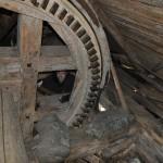Kronhjul i väderkvarn