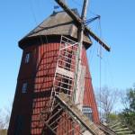 Lagga väderkvarn får nya vingar 2012