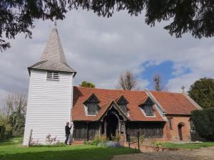 Den delvis bevarade stavkyrkan