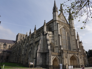 Winchester katedral