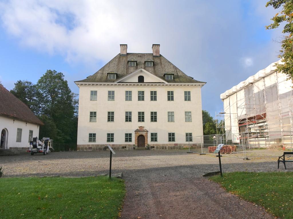 Slottet uppfördes under 1650-talet